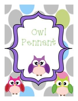 Owl Pennant