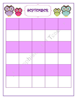 Owl Plan Book - Monthly and Weekly