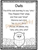 Owl Poem for Kids