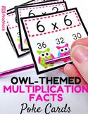 Owl Poke Multiplication Facts 1-12
