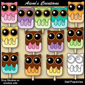 Owl Popsicles