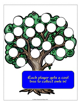 Owl Prowl Sight Word Reading Game - Dolch Primer Sight Words