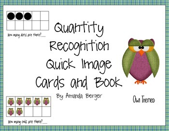 Owl Quick Match Cards and Book 1-10