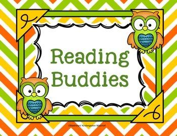 Owl Reading Buddies Poster