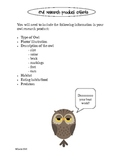 Owl Research Choice Board