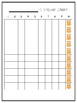 Owl Reward Sticker Chart