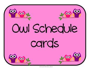 Owl Schedule