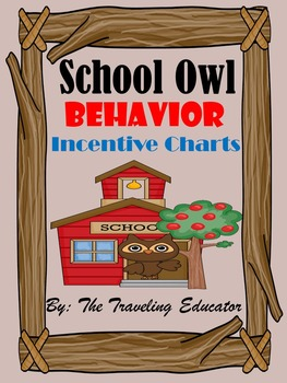 Incentive Charts with a School Owl Theme