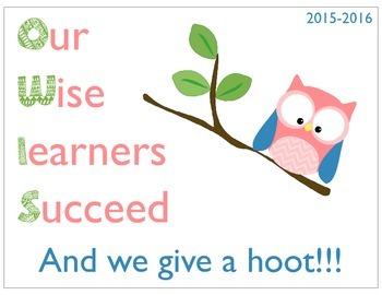 Owl School Theme