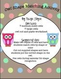 Owl Shape Match