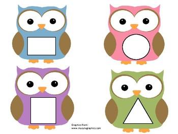 Owl Shape Matching