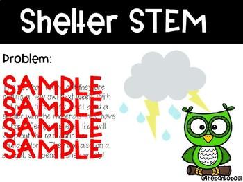 Owl Shelter STEM (editable)