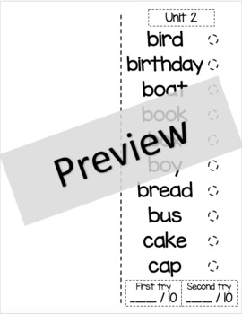 Owl Sight Word Booklet - 100 Common Nouns