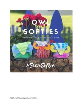 Owl Softie Pattern