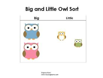 Owl Sorting Mat