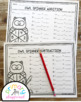 Owl Spinner Math Addition and Subtraction