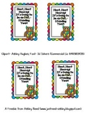 Owl-Standing Year Goody Bag Tag {FREEBIE}