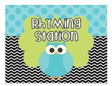 Owl Station Signs