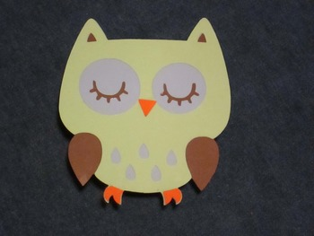 Owl Student Display Clips