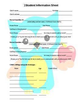 Owl Student Information