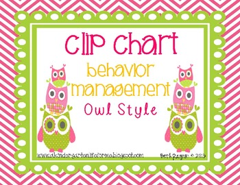 Owl Style Clip Chart