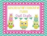 Owl Style Whole Brain Teaching Rules