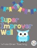 Owl Super Improver Wall ~ Editable