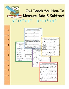 Owl Teach You How To Measure, Add & Subtract