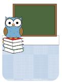 Owl Teacher Binder Set Editable