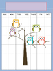 Owl Teacher Binder Set Editable