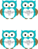 Owl Teacher Contact Cards