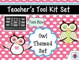 Owl Teacher's Tool Box Set