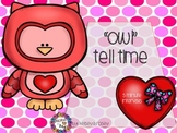 Owl Tell Time by 5 Minutes - Valentine Version