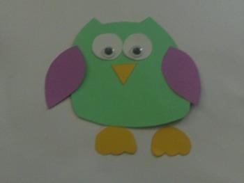 Owl Template Craft