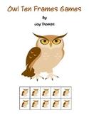 Owl Ten Frames games