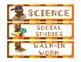 Owl Theme Classroom Decor