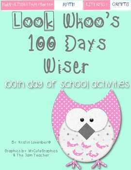 Owl Theme 100 Days of School Bundle