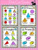 Shapes Posters - Owl Theme Classroom Decor