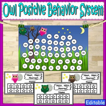 Owl Theme Classroom Management