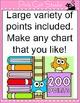 Owl Theme Accelerated Reader Chart (AR) - Editable Clip Chart