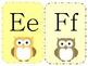 Owl Theme Alphabet