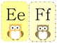 Owl Theme Alphabet