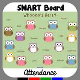 SMARTBoard Attendance Owls