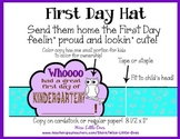 Owl Theme ~ Back to School First Day Hat ~ K-2 ~ Send them