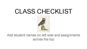 Owl Theme Back to School Forms