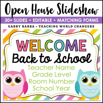 Owl Back to School PowerPoint
