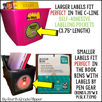Owl Labels EDITABLE Book Bin Labels for Classroom Library {Chevron}