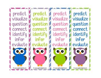 Owl Theme Bookmarks