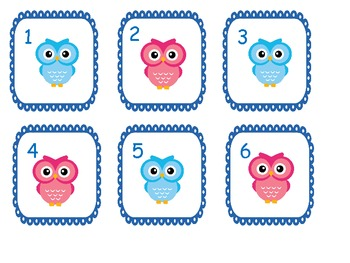 Owl Theme Calendar {Freebie}