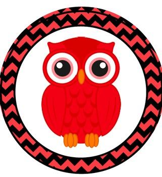 Owl Theme Center Signs
